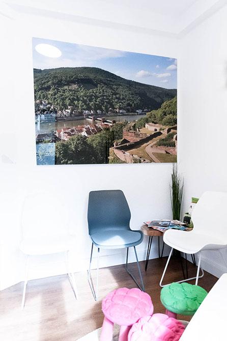 Zahnarzt Heidelberg | Eva Bodem, Wartebereich